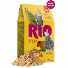 Rio для средних/крупных попугаев Яичный 250гр