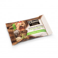 Шоколад для собак молочный  с воздушным рисом 15 гр