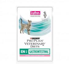 Pro Plan EN с лососем 85 г пауч Лечение ЖКТ , Проплан для кошек (консервы, паучи)