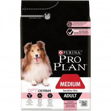 Pro Plan Medium Adult Sensitive Skin Optiderma 14кг для взрослых собак средних пород с чувствительной кожей