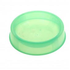 Миска д/кош/соб пластик прозрачная Keiko 200 мл