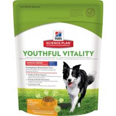 Hill's Science Plan Youthful Vitality 12кг для пожилых собак средних пород