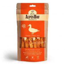 Alpen Hof Жевательные палочки с уткой д/мелких собак и щенков 50 гр