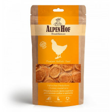 Alpen Hof Медальоны из филе курицы д/мелких собак и щенков 50 гр