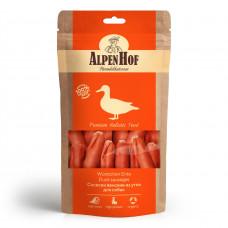 Alpen Hof Сосиски венские из утки для собак 80 гр