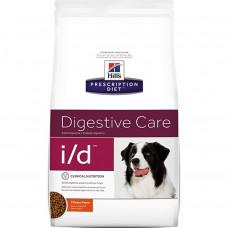 Hill's Prescription Diet I/D Digestive Care 12кг для взрослых собак при заболеваниях желудочно-кишечного тракта