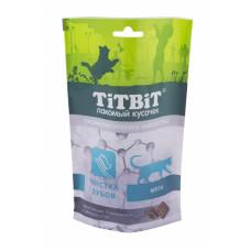 TitBit Подушечки с мясом утки,мята,чистка зубов д/кош,60 гр
