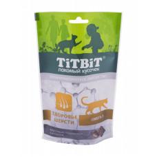 TitBit Подушечки с лососем,омега-3,здоровье шерсти д/кош,60 гр