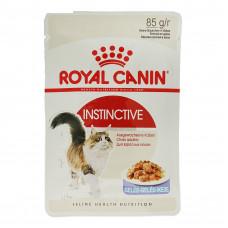 Royal Canin Instinctive 85 г паучи для кошек: 1-10лет (желе), , Роял Канин для кошек (консервы, пауч