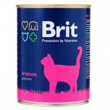 Brit с ягненком для котят 340 гр, брит консервы для котят