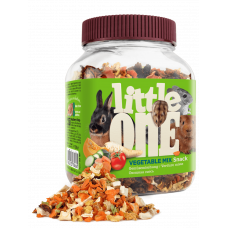 Little One Овощная смесь - лакомство для всех видов грызунов 100 г , Литл уан