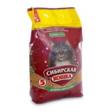 Сибирская Кошка Универсал 5л Впитывающий