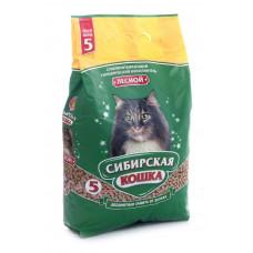 Сибирская Кошка Лесной 5л Древесный наполнитель