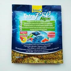 Tetra Pro Algae 12 г Чипсы, Растительный корм для всех тропических рыб