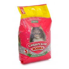 Сибирская Кошка Комфорт 5л Впитывающий наполнитель