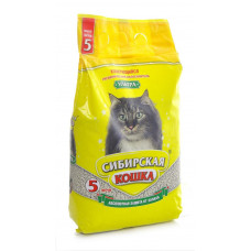 Сибирская Кошка Ультра 3л Комкующийся наполнитель