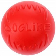 DogLike Мяч средний коралловый.арт DM-4090М