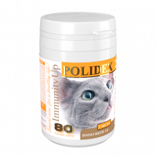 POLIDEX 80 Immunity Up витамины д/кош Иммунити Ап 1таб/4кг
