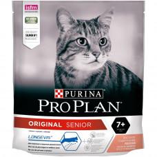 Pro Plan 7+ Adult 400г с лососем для пожилых кошек, Проплан для кошек