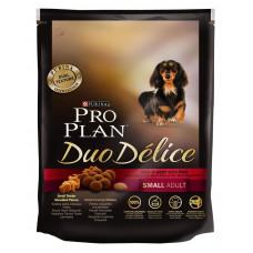 Pro Plan Duo Delice Small Adult Beef & Rice 700г для взрослых собак мелких пород с говядиной и рисом