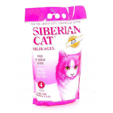 Сибирская Кошка Элит(розовый) 4л для привередливых кошек Силикагелевый наполнитель