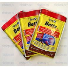 Tetra Betta Granules 5г питательный сбалансированный корм для петушков