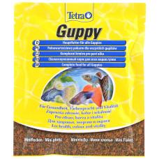 Tetra Guppy 12гр Мини хлопья, для всех видов гуппи