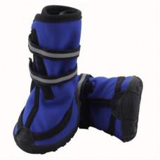 Ботинки д/соб. YXS137-М синие.,60*55*70 Триол