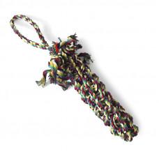 """Triol Игрушка для собак""""Веревка плетеная косичка"""",380мм"""