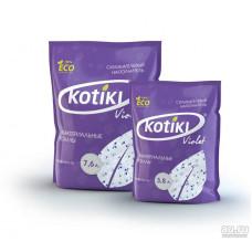 Kotiki Violet 3,8л наполнитель силикагелевый  , Котики