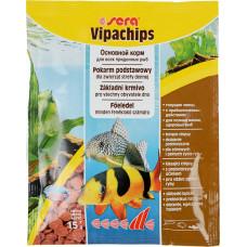 Sera Vipachips Основной корм в форме чипсов для всех придонных рыб 15г