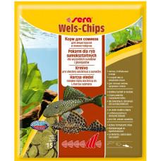 Sera Weis- Chips корм для сомов 15г