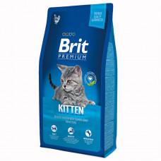 Brit Premium Cat Kitten 800г для котят с курицей в лососевом соусе