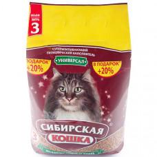 Сибирская Кошка Универсал 3л Впитывающий