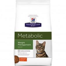 Hill's Prescription Diet Metabolic Weight Management Chicken 1,5кг для улучшения метаболизма (коррекции веса) у кошек с курицей
