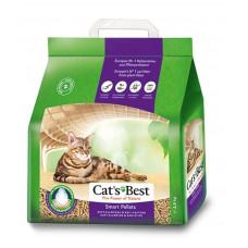 Cats Best Smart Pellets 5 кг Комкующийся древесный наполнитель для длинношерстных кошек, 5л,  , Кетс