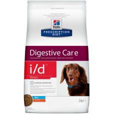 Hill's Prescription Diet i/d 5кг Digestive Care Stress Mini для взрослых собак мелких пород при расстройствах ЖКТ в стрессовых ситуациях