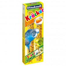Vitakraft крекеры д/волн.попугаев яичные 2 шт