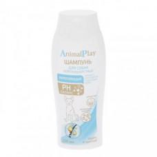 AnimalPlay шампунь для короткошерстных собак 250мл Укрепляющий