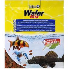 TetraWafer Mix 15г Чипсы для всех видов донных рыб и ракообразных