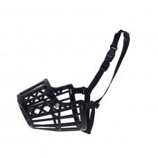 Намордник Jack&King №4 пластиковый черный 22 см