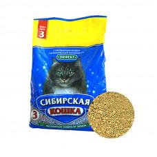 Сибирская Кошка Эффект 3л Впитывающий наполнитель