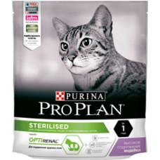Pro Plan Sterilised Turkey для стерилизованных кошек с индейкой 200г, Проплан для кошек