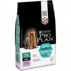 Pro Plan Small&Mini Adult OptiDigest Grain Free 700г для взрослых собак мелких и миниатюрных пород с индейкой